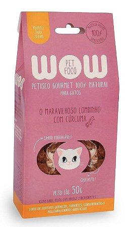 Petisco Natural para Gatos O Maravilhoso Lombinho com Cúrcuma 50g