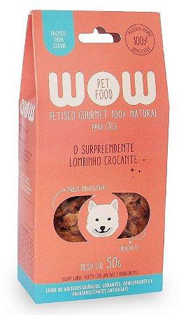 Petisco Natural para Cachorros O Surpreendente Lombinho Crocante 50g