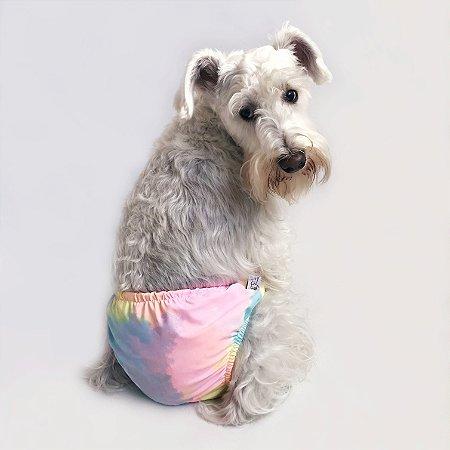 Sunga para Cachorros Tie Dye