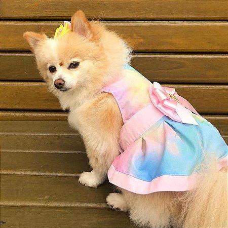Vestido para Cachorros Colorido