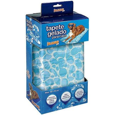 Tapete Gelado para Cachorros e Gatos Marine Cool
