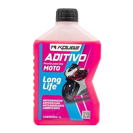 Aditivo Para Radiador Moto Koube Long Life Pronto Uso Rosa