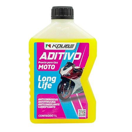 Aditivo P/ Radiador Moto Koube Long Life Pronto Uso Amarelo