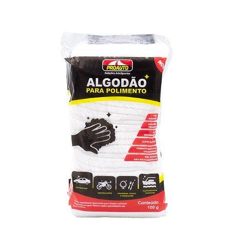 Algodão Premium Proauto Para Polimento Automotivo Motos