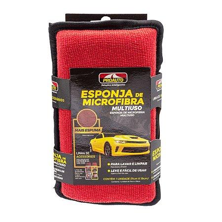Esponja de Microfibra Para Lavagem Automotiva Motos Proauto
