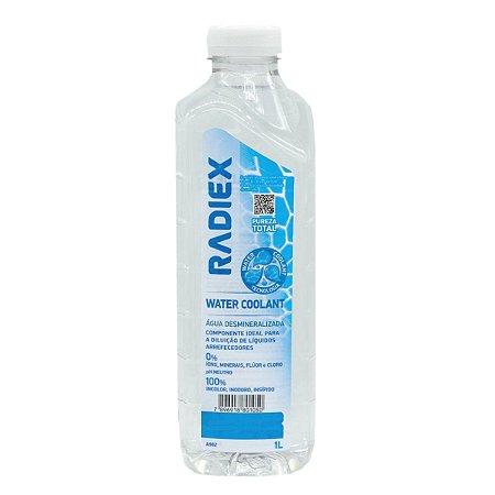Água Desmineralizada Radiex Para Radiador E Bateria 1 Litro