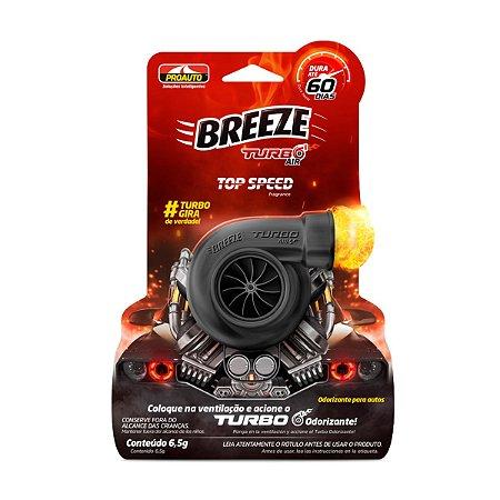 Aromatizante Breeze Turbo Air Speed Limit Cherinho Odorizante Proauto