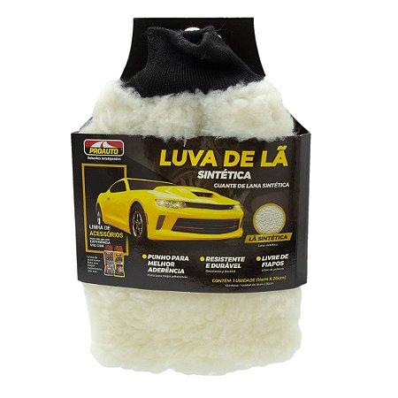 Luva La Sintetica Com Punho Para Limpeza Automotiva Proauto