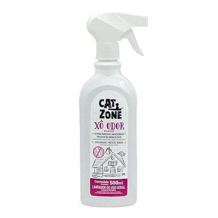Cat Zone Xô Odor Elimina Manchas Odores Urina de Gatos 500ml