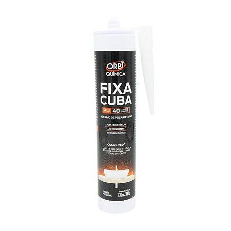 Adesivo Cola Pu Poliuterano Fixa Cuba Pedra Marmore 380g