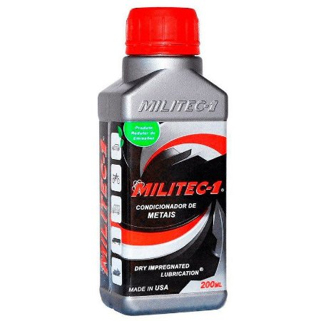 Militec 1 Condicionador De Metais 200Ml 100% Original
