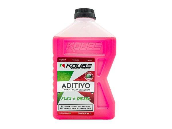 Aditivo Radiador Concentrado Sintético Koube Rosa 1 Litro
