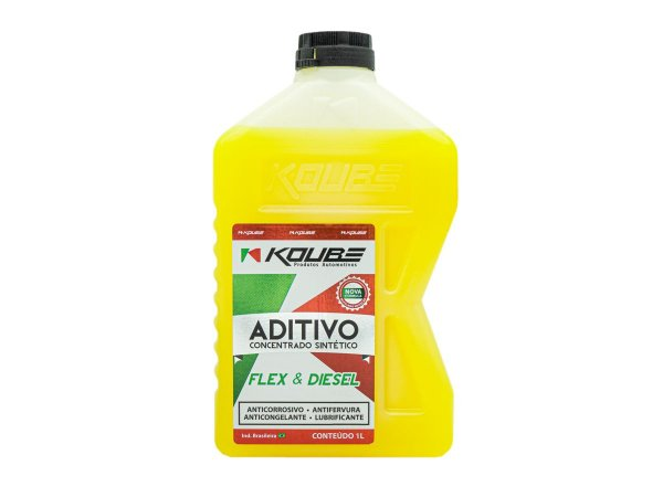 Aditivo Radiador Amarelo Concentrado Sintético Koube 1l