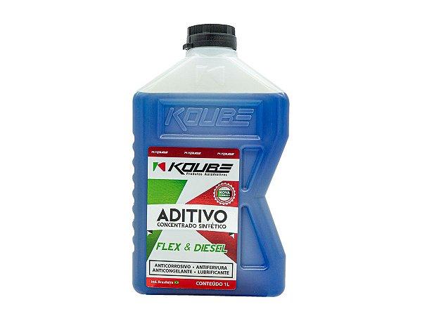 Aditivo Radiador Azul Concentrado Sintético Koube 1l