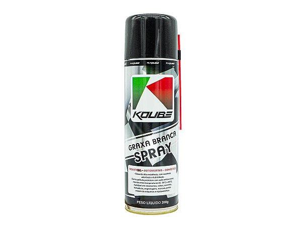Koube Graxa Branca Spray - 300ml Corrente