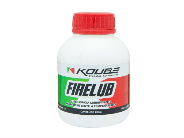 Super Graxa Lubrificante Koube Firelub Altas Temperaturas