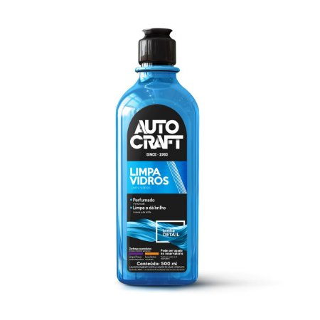 Limpa Vidros Automotivo Autocraft Proauto 500ml