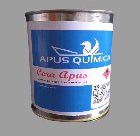 Cera Especial para Granitos e Mármores Incolor 900 ml Apus Química