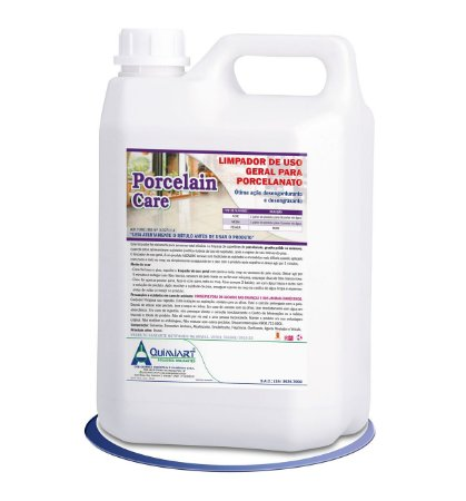 Limpador de Uso Geral para Porcelanato- Porcelain Care- 5lts-Quimiart