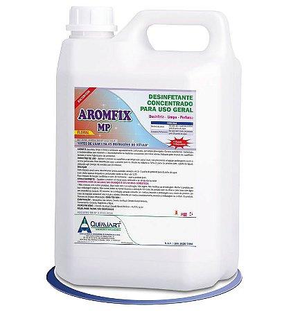 Desinfetante Limpador Bactericida AromFix MP -Lavanda-5 lts- Quimiart
