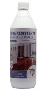 Cera Resistente Laminados e Vinilicos Brilhante 1 litro- W&W Quimica