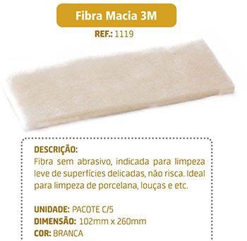 Fibra Macia 3M Serviço Leve Para Suporte LT - Pacote com 05 unids