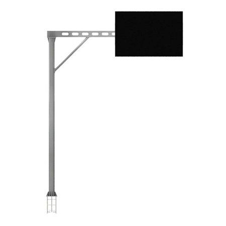 Bandeira semi-pórtico de viga vazada