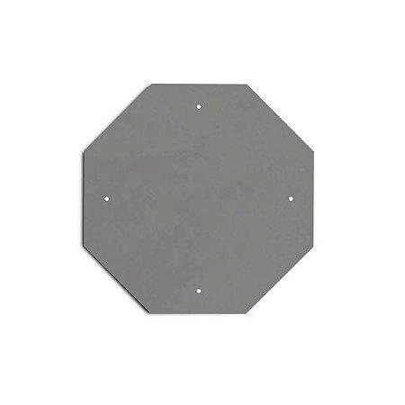 Chapa para placa de sinalização - octagonal (PARE)