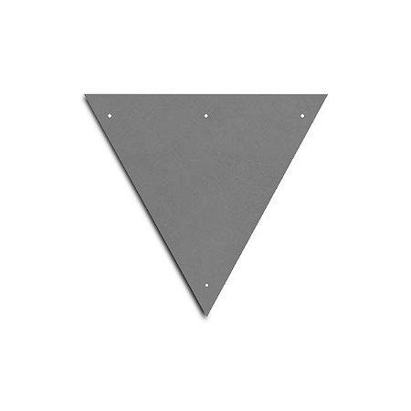 Chapa para placa de sinalização - Triangular