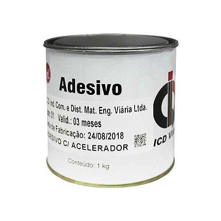 Adesivo (cola) à base de resina poliester - 1 kg