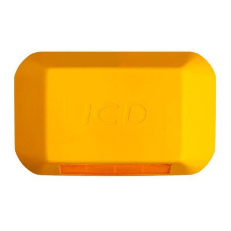 Tachão refletivo Monodirecional - Amarelo - ICD Vias