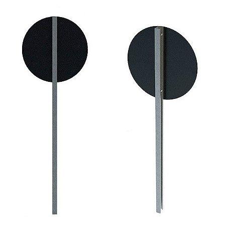 Poste de sinalização para placas de trânsito - Perfil C - Aço galvanizado