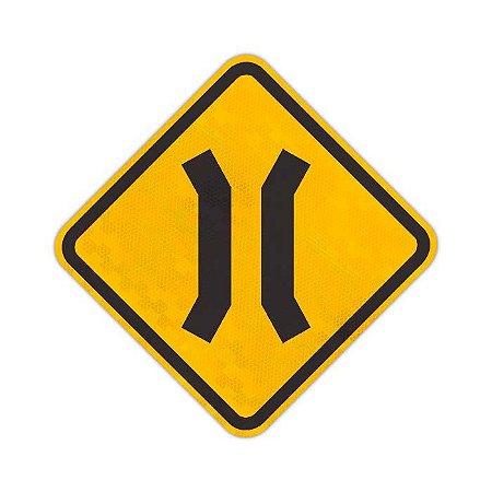 Placa Ponte estreita A-22