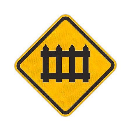 Placa Cruzamento rodoferroviários A-40