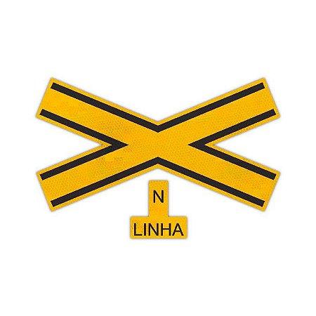 Placa Cruz de Santo André A-41