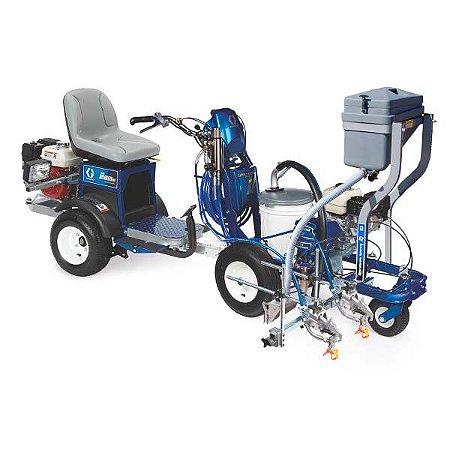 Máquina de demarcação viária Graco LineLazer V 3900 HP com LineDriver