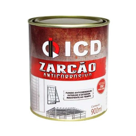 Tinta zarcão anticorrosivo 900 ml