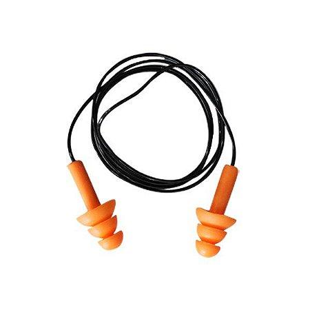 Protetor Auricular de silicone - Cordão de PVC - Vonder