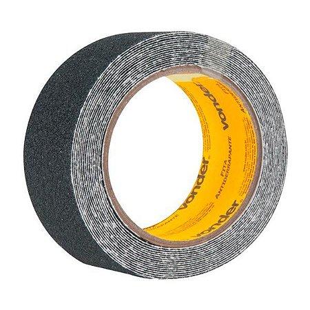 Fita antiderrapante Preta - 5 cm x 5 m - Vonder