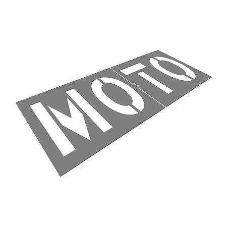 Gabarito de aço - Moto