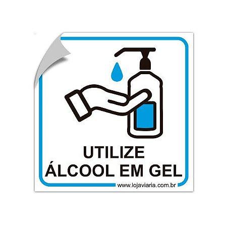 Adesivo refletivo - Utilize álcool em gel - 15 x 15 cm