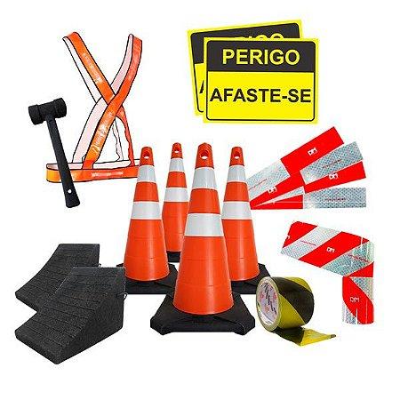 Kit Completo Para Caminhão - Segurança e emergência