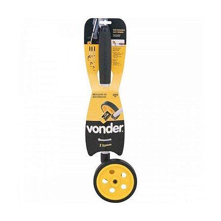 Medidor (Totalizador) de Distâncias com Roda - 4 Dígitos - Vonder