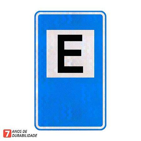 Placa Área de estacionamento (SAU-01)