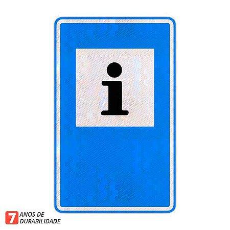 Placa Informações turísticas - Serviços auxiliares (SAU-2)