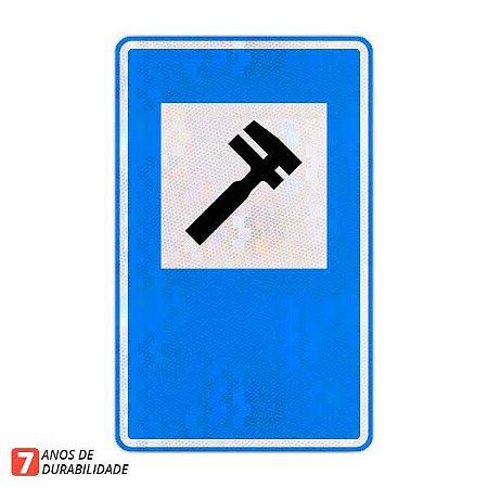 Placa Serviço Mecânico (SAU-07)