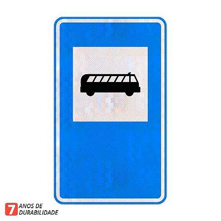 Placa Ponto de parada / ponto de ônibus (SAU-26)