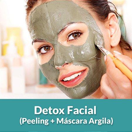 Detox Facial (Peeling + Máscara Argila)