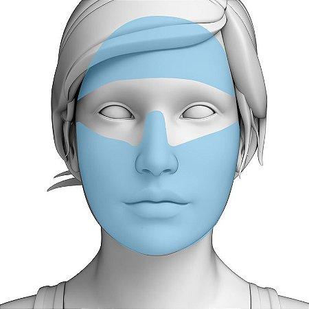 Depilação a Laser Rosto Inteiro Feminino - Pacote Completo