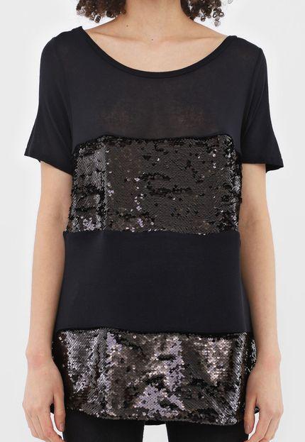 T-Shirt Descolada Alongada